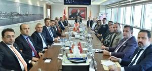 Rektörler ve sanayiciler, Vali Su başkanlığında toplandı