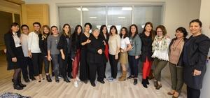 AOSB'nin kadın sanayicilerinin fabrika ziyaretleri devam ediyor
