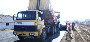 Karaman Belediyesi'nde asfalt çalışmaları