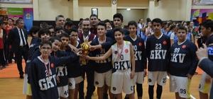 Potanın efendisi Gaziantep Kolej Vakfı namağlup unvanla şampiyon