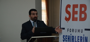 Kars'ta Şehirlerin Ekonomik Beklentileri Forumu düzenlendi