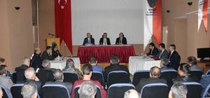 Burdur'da huzur toplantısı gerçekleştirildi
