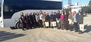 İzmitli kadınlar  Bursa'ya gittiler