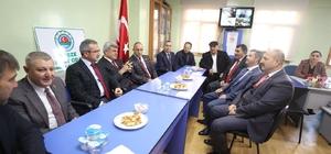 Başkan Karaosmaoğlu, Gebze'de ticaret odalarını ziyaret etti