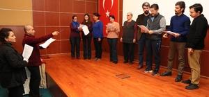 Büyükşehir Belediyesi'nin ücretsiz tiyatro kursları devam ediyor
