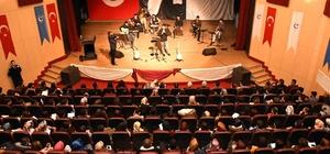 Müzikseverler halk müziği ezgileri konserinde buluştu