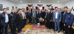 Başkanlar Köy Konağında buluştu