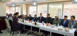 Vali Arslantaş, Erzincan Valiliği kadrosunda görevli personellerle biraraya geldi