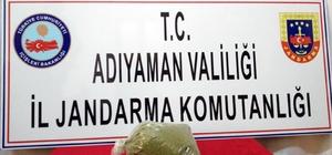 Jandarma ekiplerince 2 kilo esrar ele geçirildi