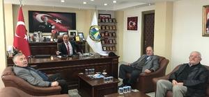 Muhtarlardan Alaplı Belediye Başkan Vekili Ateş'e ziyaret