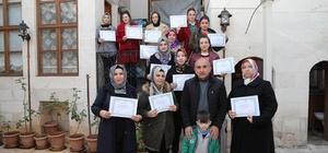 Bayanlar Almanya'daki mesleki eğitime katıldı