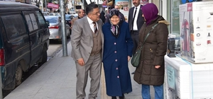 Başkan Yağcı'dan esnaf ve vatandaş ziyareti