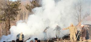 GÜNCELLEME 2 - Tokat'ta ahşap evde yangın