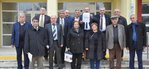 CHP İlçe Başkanı Erayhan mazbatasını aldı