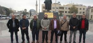 Kilisli gazetecilerden Kudüs tepkisi