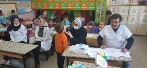 Hisarcık'ta öğrencilere ağız ve diş sağlığı taraması