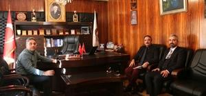 Rektör Prof. Dr. Bağlı, Çat beldesini ziyaret etti