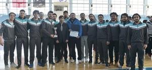 Karaman'da üniversitelerarası basketbol 2. Lig müsabakaları sona erdi