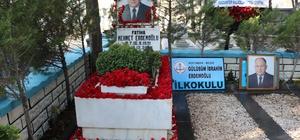 Mehmet Erdemoğlu mezarı başında anıldı