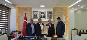 Bursa Yenişehir Belediyesi'nden Beylikova TDİ Besi Organize Sanayi Bölgesine ziyaret
