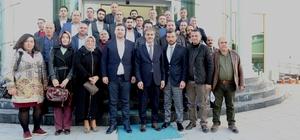 AK Parti Serdivan İlçe Başkanı Burak Erken'den Alemdar'a ziyaret