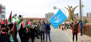"""Niğde'de """"Kudüs İslam'ındır"""" yürüyüşü"""