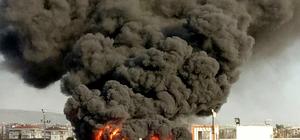 Kocaeli'de kimyasal malzeme yangını