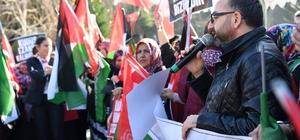 Kartepe'den Kudüs'e destek yürüyüşü