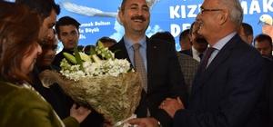 Başkan Yılmaz Adalet Bakanı'nı ağırladı