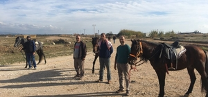 Manavgat Belediyesi'nden rahvan atlara antrenman sahası