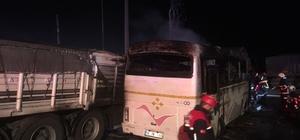 Adana'da tır ile otobüs çarpıştı