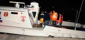 Kayalıklardan düşen kişiyi sahil güvenlik ekipleri kurtardı