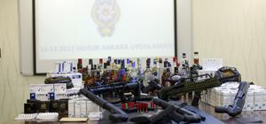 """Başkentte 2 bin 751 polis ile """"Huzur Ankara""""operasyonu"""