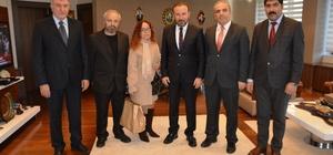 Erzincanlılar Başkan Doğan'ı ziyaret etti