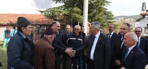 Başkan Günaydın'dan köy buluşmaları