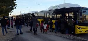 Diyarbakır'da havaalanına ek toplu taşıma seferleri başlatıldı