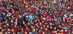 """Gazişehir'de """"Kurtuluş"""" için koştular"""