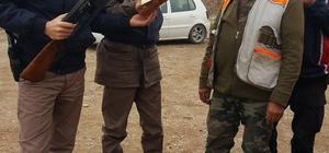 Jandarma avcıları denetledi