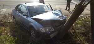 Bilecik'te iki otomobil çarpıştı: 8 yaralı