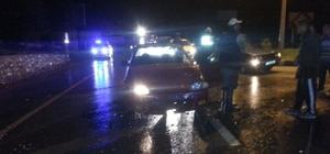 Milas'ta yağışlar kazaları da beraberinde getirdi