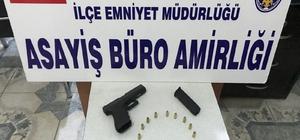 Mardin'de biri 'Glock' marka 2 silah ele geçirildi