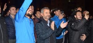 Kırşehir Belediyespor'a coşkulu karşılama