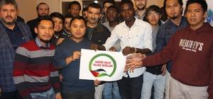 (özel haber) Yabancı öğrencilerden, Türkiye'ye 'Kudüs' teşekkürü