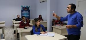 Engelliler için yapılan E-KPSS kursuna yoğun ilgi