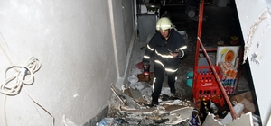 Nazilli'de patlama; 1 ağır yaralı