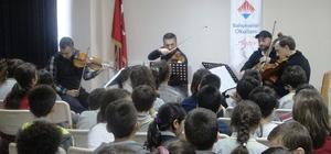 ydın Bahçeşehir Koleji, Borusan Quartet'i ağırladı