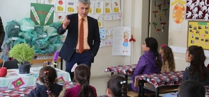 Kaymakam Faik Arıcan'dan okul ziyaretleri
