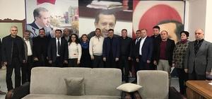 Asimder, Ak Parti Başkanı Tutulmaz'ı ziyaret etti