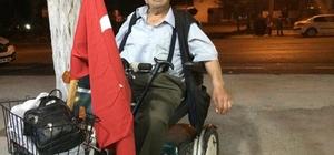 Engelli dostu gurbetçi 63 yaşında vefat etti