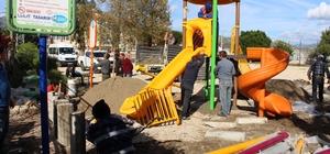 Büyükşehir'den Kumluca'ya çocuk parkı